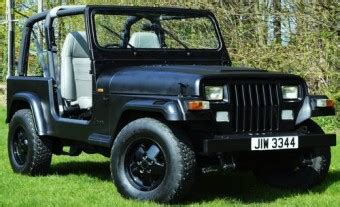for sale 1994 jeep wrangler 4 0 manual black with grey leather classic cars hq