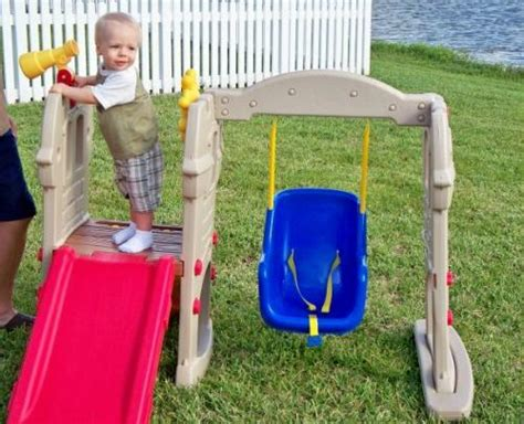 little tikes castle swing com little tikes swing along castle toys games