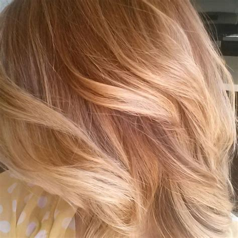 honey brown hair with blonde ombre copper to warm honey blonde ombre melt bayalaye