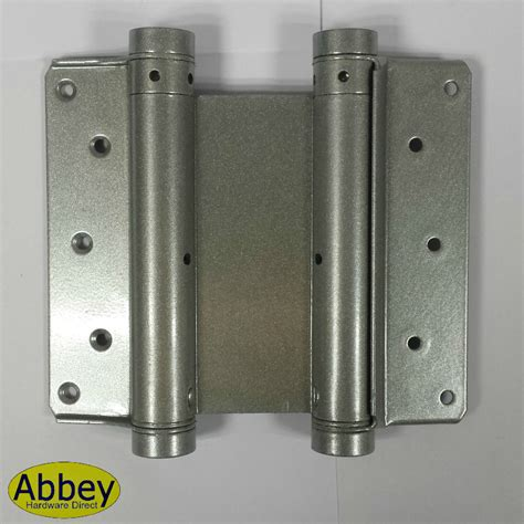 swing gate hinges double action spring swing door gate saloon hinges silver