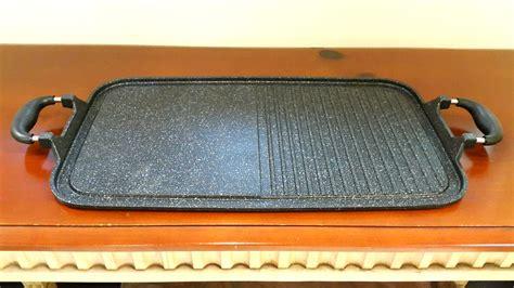 Alat Panggang Teflon multi grill pan alat panggang tanpa arang berkualitas