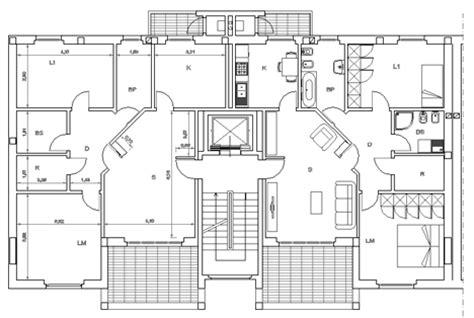 pianta appartamento dwg residenze in linea dwg in linea