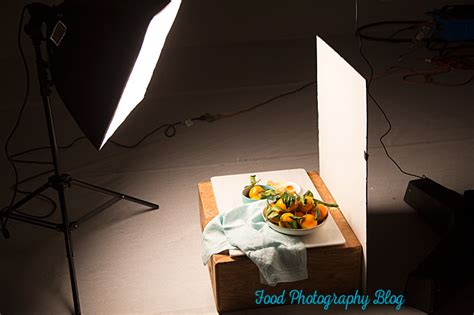 Food Photography Lighting by Food Photography Lighting Easy Artificial Side Lighting