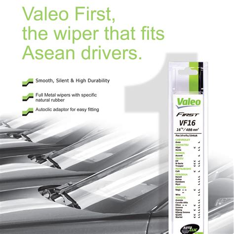 All New Wiper Mobil Valeo 2 Pcs Kiri Kanan valeo wiper blade for proton end 10 12 2019 3 52 pm