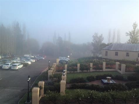 the sebel hawkesbury valley morning fog view from loungeroom picture of the sebel
