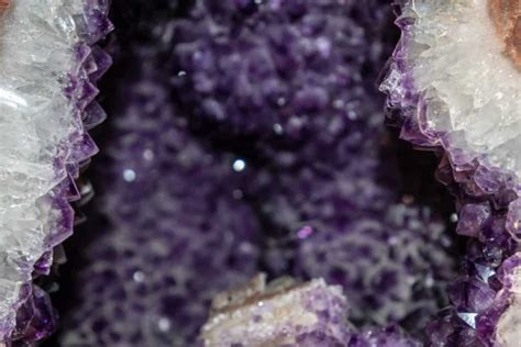 large natural amethyst crystal clusters  geodes