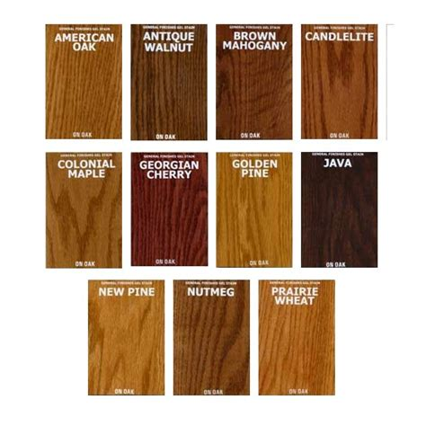 general finishes gel stain color chart amazing gel stain colors 5 general gel stain color chart