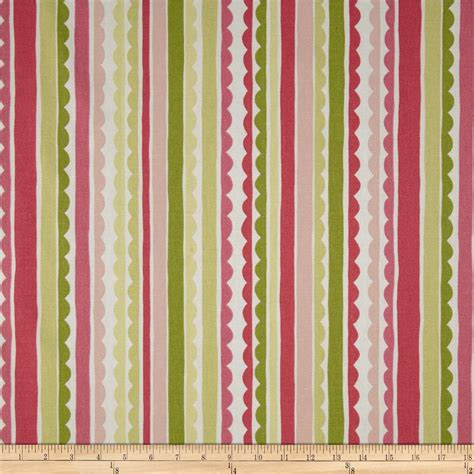 drapery fabrics wholesale p kaufmann saray stripe watermelon discount designer