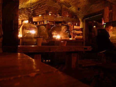 Rustic Kitchen Design inside the medieval tavern photo