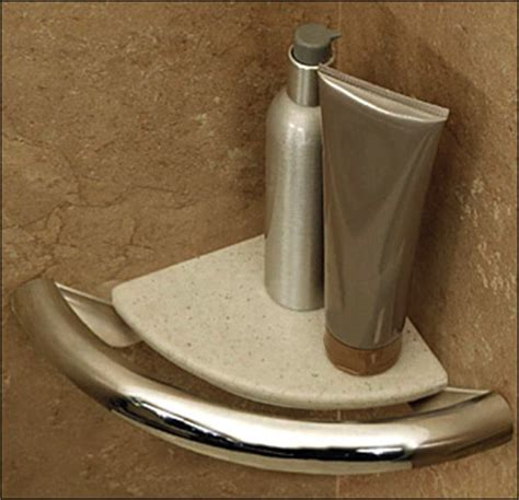 Safety First Bathtub Ring Invisia Collection Corner Shelf Grab Bar For Bathrooms And