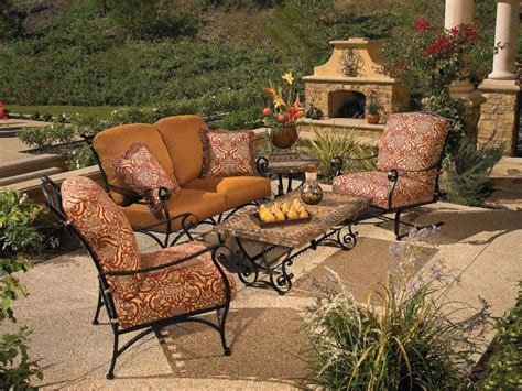 wrought iron patio sofa furniture arlington house wrought iron chair walmart