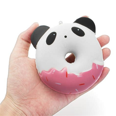Squishy Cafe Animal Donut Cafe Animal Donut yunxin squishy animals donut 10cm sweet soft rising with packaging collection gift
