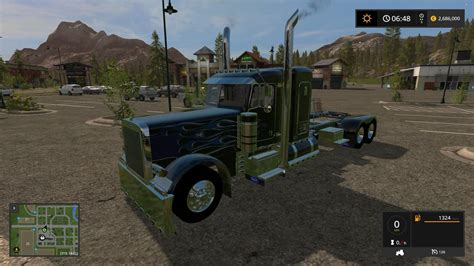 Unique Handmade Ls - peterblilt 379 custom converted v1 ls 17 farming