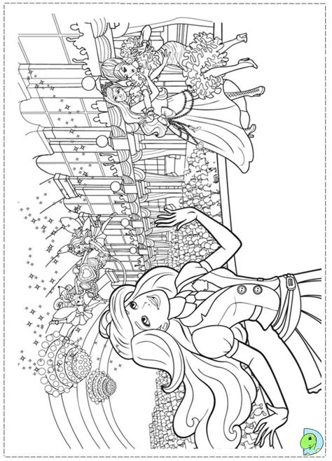 barbie school coloring page coloring page