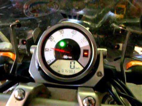 Lu Indikator yamaha mt 01 with integrated gear shift indicator mt
