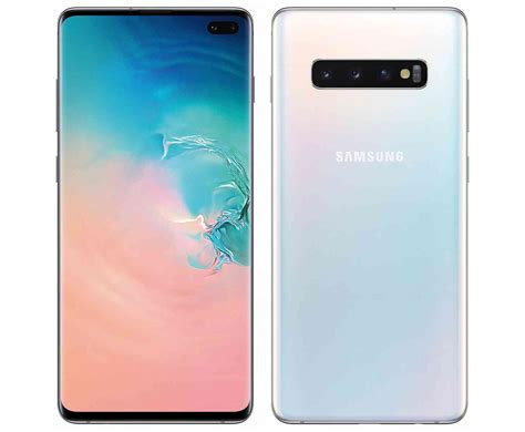 Samsung Galaxy S10 White by Samsung Galaxy S10 Leaks Out In High Quality Renders Phonedog