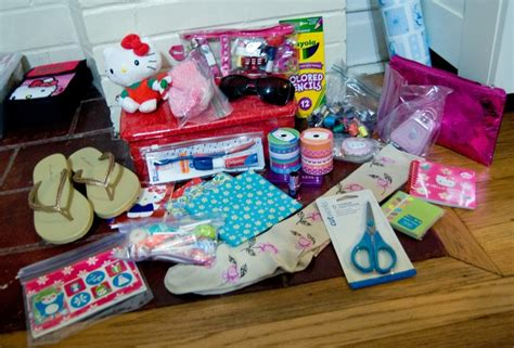 shoebox packing ideas inspiration for operation