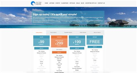 business directory layout design 5 ways to monetize your online directory website