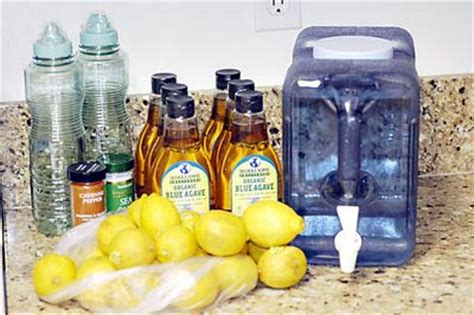 Lemon Detox Without Syrup by The Maple Syrup Diet Mumbling Rather Loudly