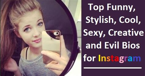 Stylish Biography For Facebook | 500 funny cool stylish instagram bios you should use
