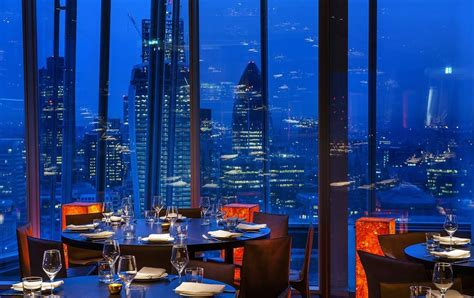 bar at the top of the shard the shard restaurants ultimate guide bookatable blog