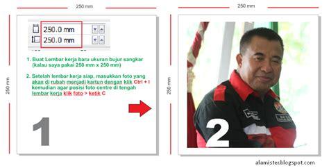 cara membuat foto menjadi kartun di corel draw x5 teknologi informasi trik corel draw membuat kartun
