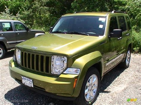 green jeep liberty 2012 2012 rescue green metallic jeep liberty sport 4x4
