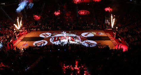 epson and 4wall entertainment light up unlv pregame show