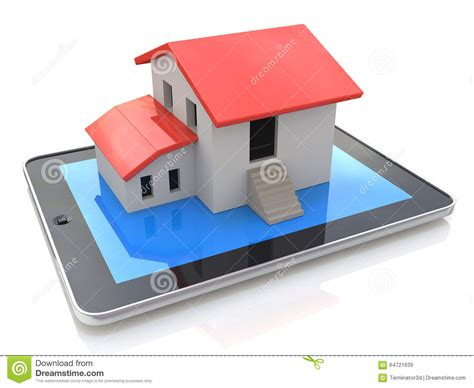 home design 3d tablet tablet pc with simple house model on display 3d