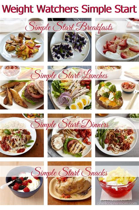 weight watcher simple start recipes 1000 ideas about recipe for success on