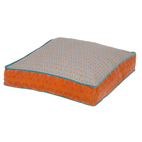 large floor pillow large floor cushion in five colours by out there interiors