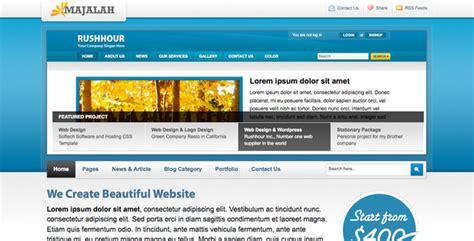 majalah web design 60 best html business templates for websites