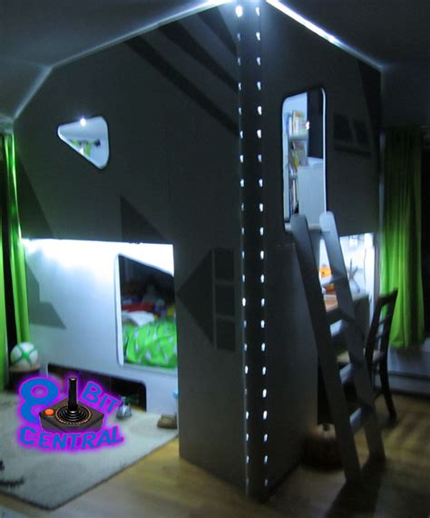 gaming bed the game fortress is a custom designed 2 story
