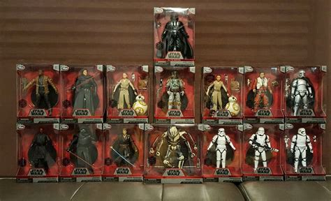 figure casts wars collectible elite series die cast figures