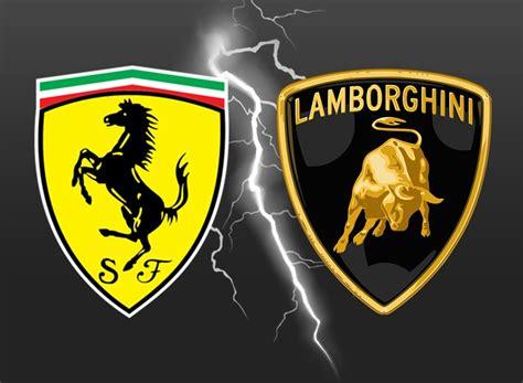 Lamborghini Oder Ferrari by Ferrari Vs Lamborghini