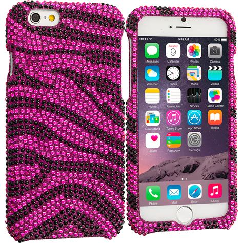 Blingcase Studed For Iphone for apple iphone 6 4 7 rhinestone bling design cover