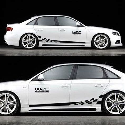 Auto Aufkleber Racing by W2c Racing Car Styling Car Sticker Car Sticker For