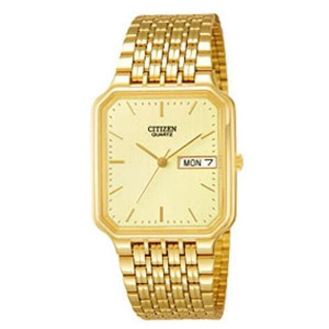 citizen gents gold bk3822 59p wrappings