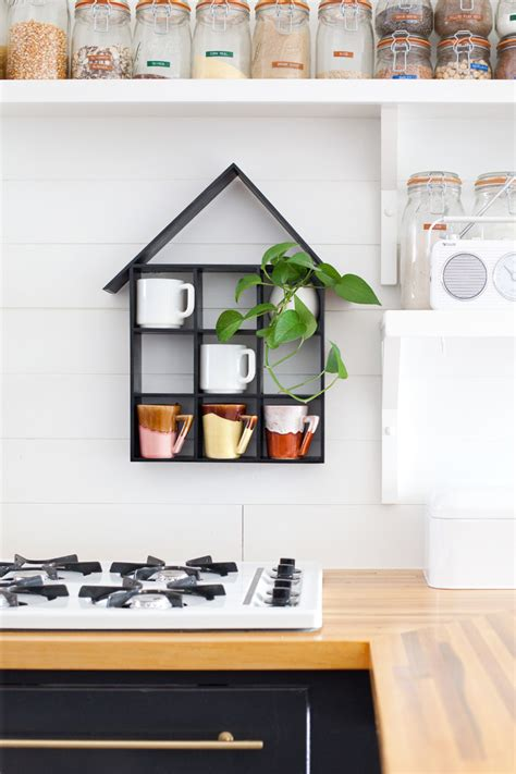 house shaped shelf diy a beautiful mess