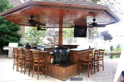 Posh Patios kamado kitchen traditional patio new york by posh