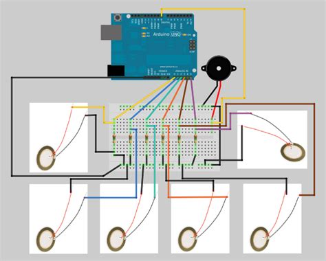 Berkualitas Piezoelectric Buzzer Module For Arduino Raspberry Pi Dll project piezoelectric arduino drum garagelab arduino