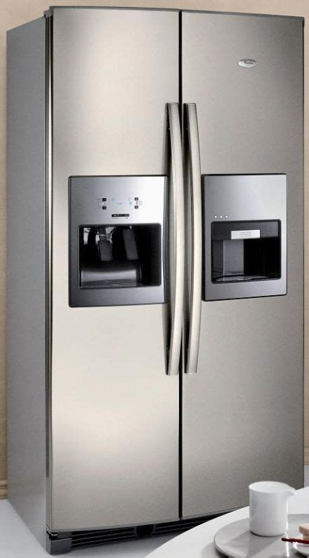 Freezer Terkini whirlpool espresso refrigerator brings the coffee to the