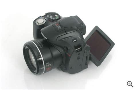 Canon Powershot Sx40 Hs Build And Design