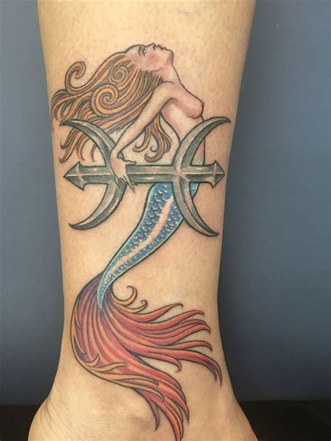 mermaid pisces tattoo 14 best images about tatts as on pisces