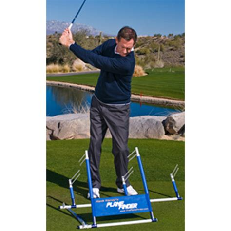 golf swing plane trainer hank haney plane finder golf aid at intheholegolf