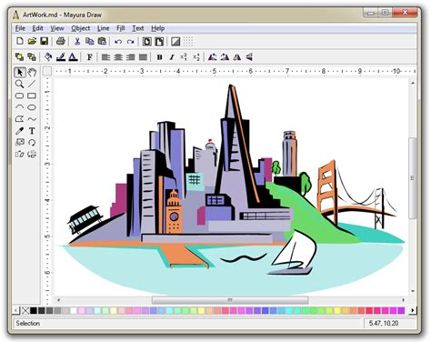 web drawing program mayura draw vector drawing program with svg and eps export