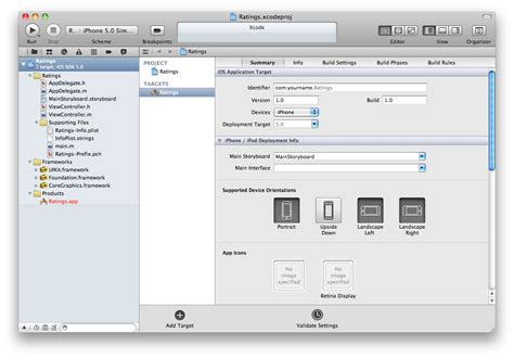 xcode window layout beginning storyboards in ios 5 part 1