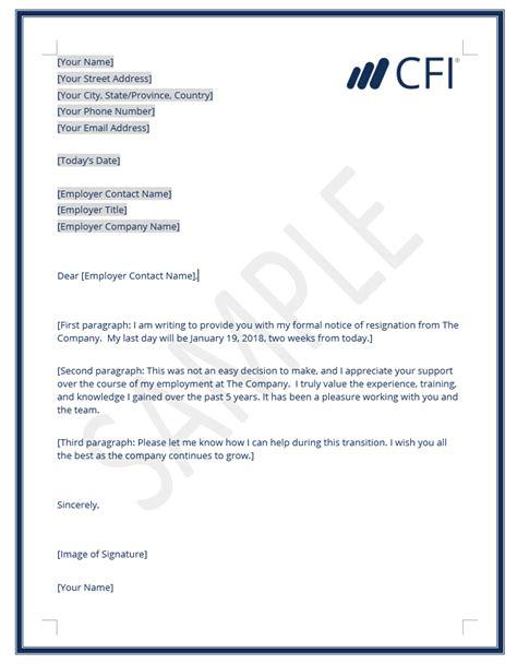 resignation letter write letter resignation