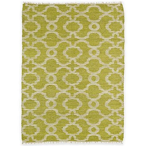 9 foot area rugs buy kaleen kenwood trellis 7 foot 6 inch x 9 foot area rug in lime green from bed bath beyond