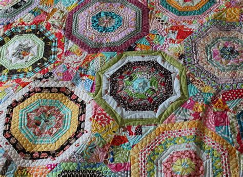 selvage scrap spiderweb quilt